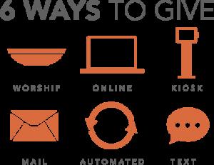 6 Ways to Give-Orange