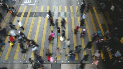 stock-footage-hong-kong-busy-street-crossing